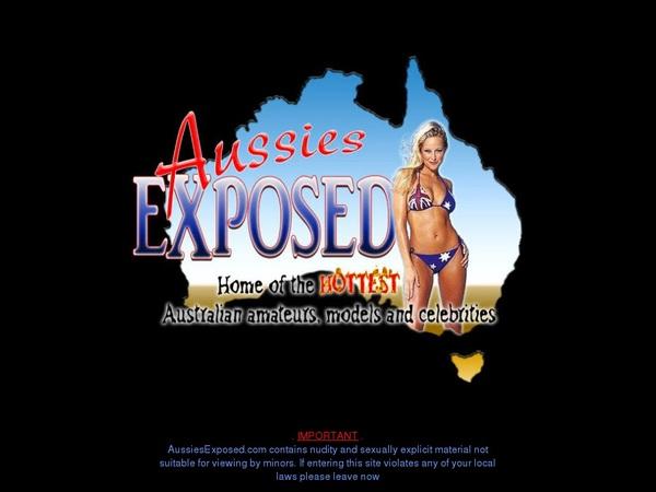 Aussies Exposed Promo Code