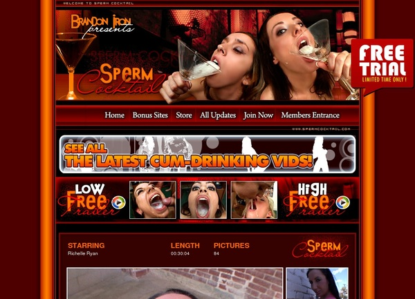 Free Sperm Cocktail Premium Account