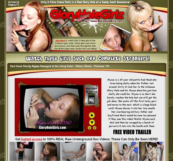 Gloryholegirlz.com Gloryhole Girlz