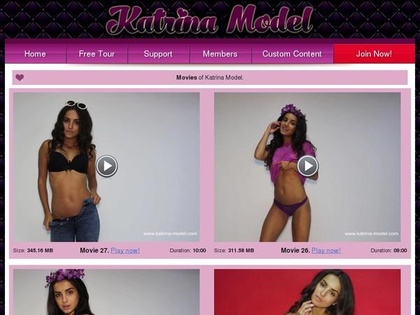 Katrina Model Login Info