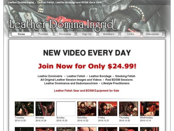 Leatherdominaingrid.com Payment