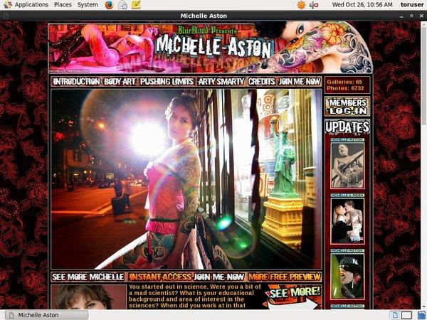 Michelle Aston Pay Pal