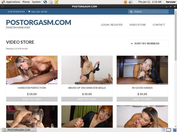 Postorgasm.com Lower Price