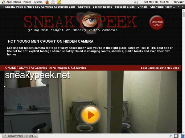 Sneaky Peek Contraseña