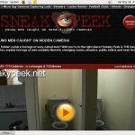Sneaky Peek Siterip