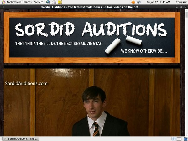 Sordid Auditions V2 Full Hd