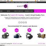 Czech VR Casting Passcode