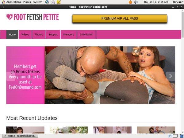 Discounts Foot Fetish Petite