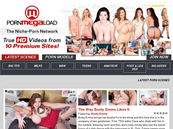 Free Pornmegaload.com Passwords