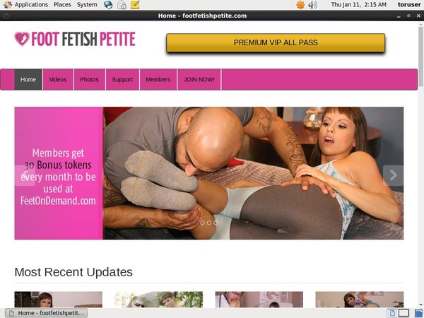 How To Get Free Footfetishpetite.com Account