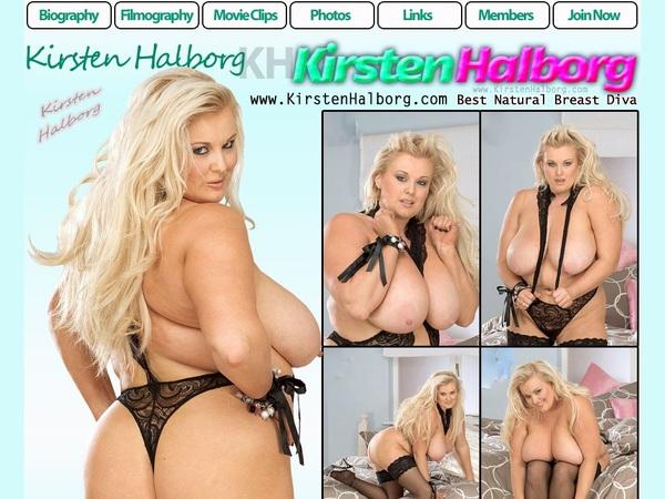 Kirsten Halborg Model List