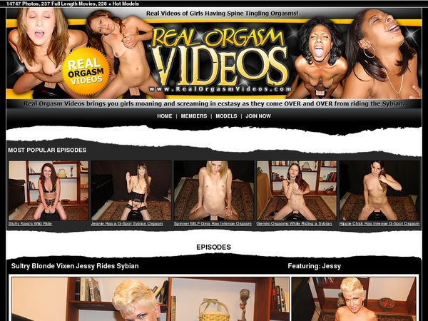 Realorgasmvideos.com Subscribe