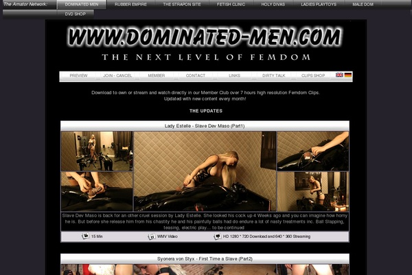 Dominated-men.com Payporn