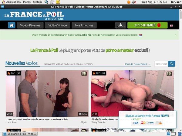 Membership To La France A Poil