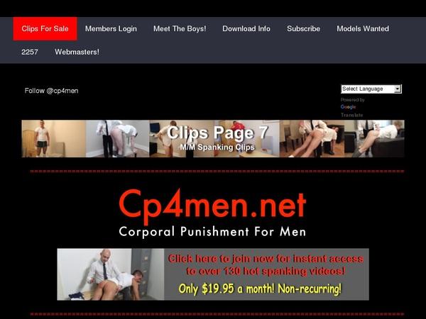 CP 4 Men Cheaper