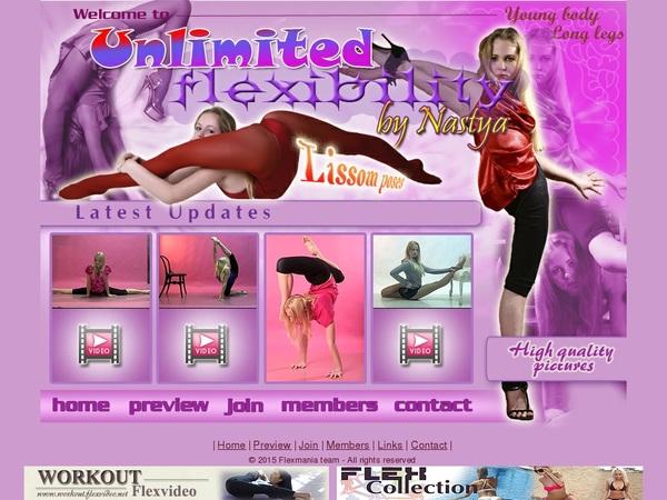 Premium Nastya Flex Mania Account Free