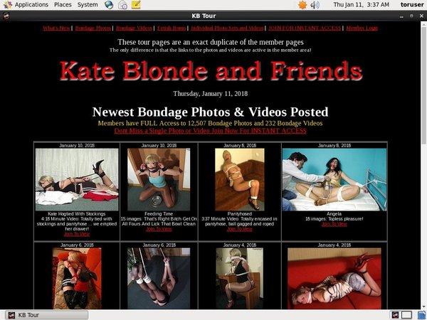 Kateblondeandfriends Free Scene